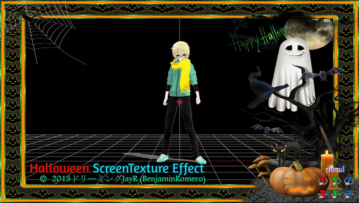 how to add effects to mmd