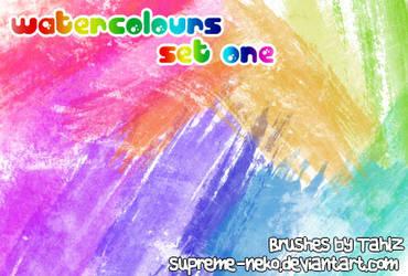 Watercolours - Set One
