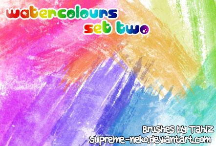 Watercolours - Set Two by tahliadenae