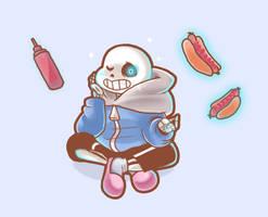 (gif) I LOVE HOTDOG | UNDERTALE by Darthsmaul