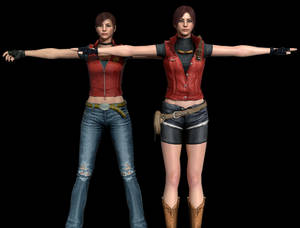 Claire Redfield Pack (No Rigged) [DL]