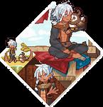 3P: desert starly trainer