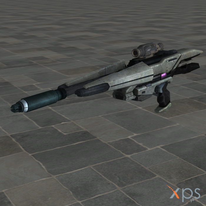 Mass Effect Concept Gun Nox Sniper Rifle by SaltPowered