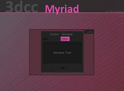 Myriad 3dcc