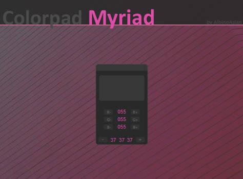 Myriad Colorpad