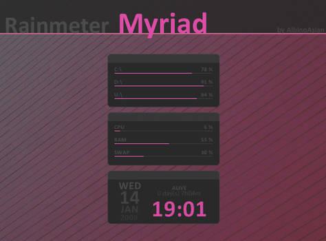 Myriad Rainmeter