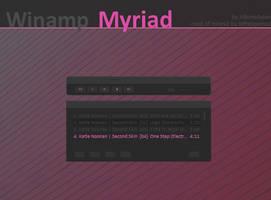 Myriad Winamp Classic by AlbinoAsian