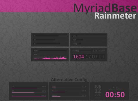 Myriad Base Rainmeter
