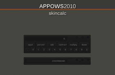 Appows2010 SkinCalc