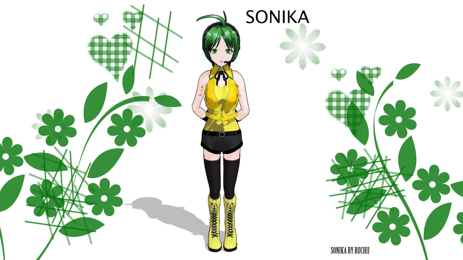 Sonika - mmd model by RuchiiP