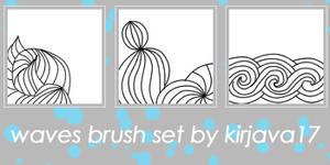 waves brush set
