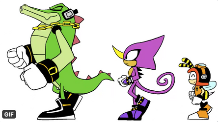 Team Chaotix Gif