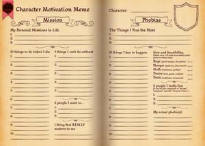 TMM Character Motivation Meme