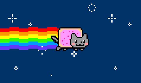 Nyan Cat HD GIF