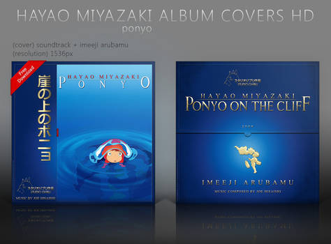 Ponyo Album Covers HD