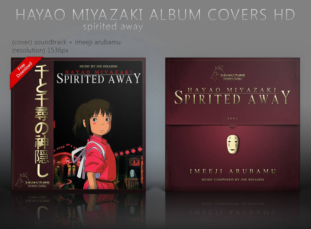 Spirited Away Chihiro Album Covers Hd By Shinobireverse On Deviantart