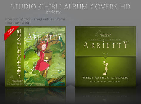 Special Arrietty Album Covers HD