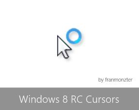 Windows 8 RC Cursors by arcticpaco