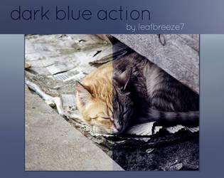 Dark blue action by Leafbreeze7