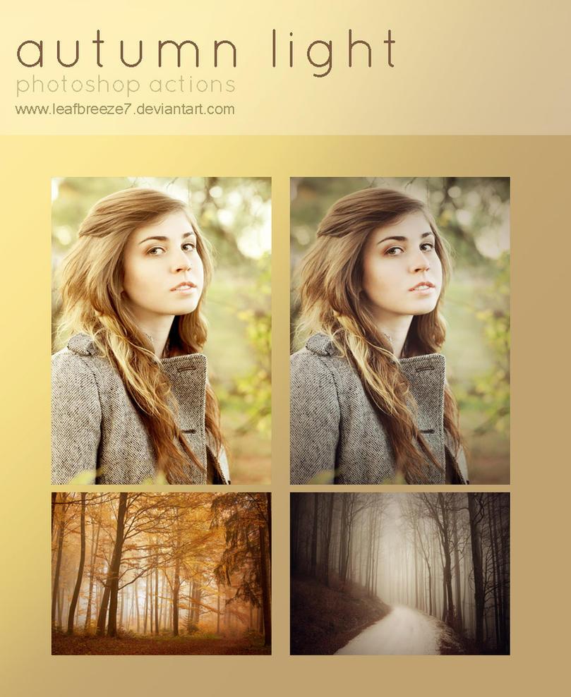 Autumn Light Action by Leafbreeze7