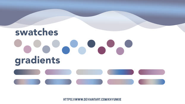 [RESOURCE] - Photoshop Swatch and Gradients [02]