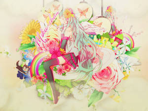 Share PSD Cover #2 - Hatsune Miku