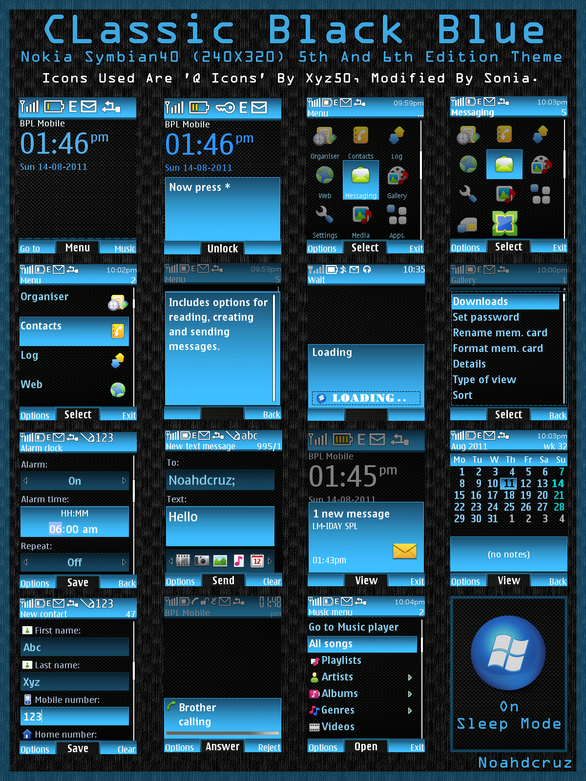 Nokia 2700 Classic themes - free download - Mobile themes