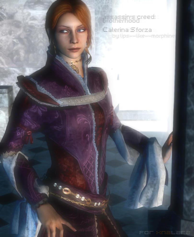 ACB: Caterina Sforza model by lips--like--morphine on