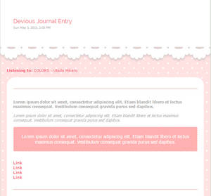 [FREE] Pink Polka Journal Skin
