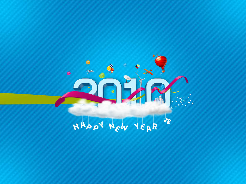 New Year 2010 by gr8najam