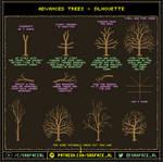 Pixel Art Tutorial - Trees