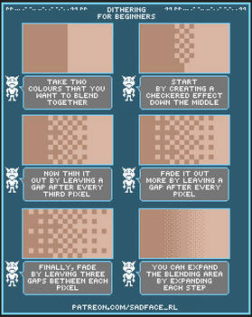 Dithering Tutorial for Beginners