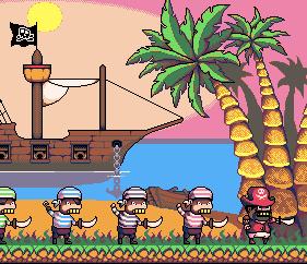 Falling Pirates by OareasO