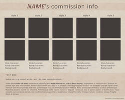 Blank Commission Sheet (PSD)