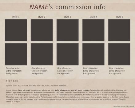 Blank Commission Sheet (PSD) by ynne-black-stock