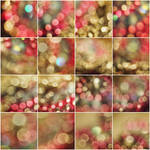 [unrestricted] Pink and Gold - Bokeh Bundle by ynne-black-stock