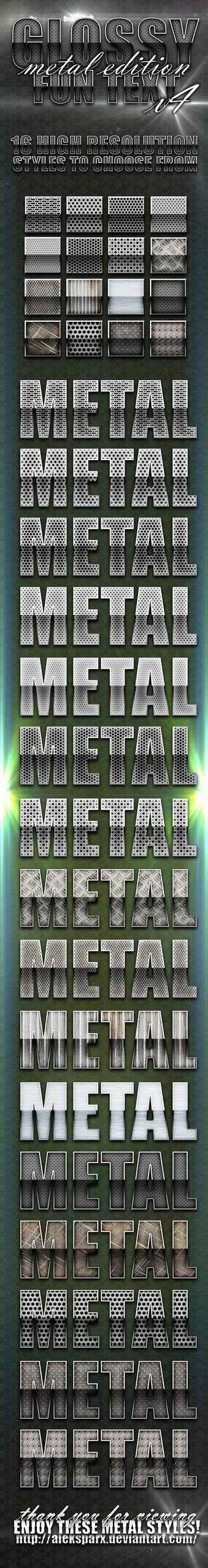 Genuine Glossy Metal Style