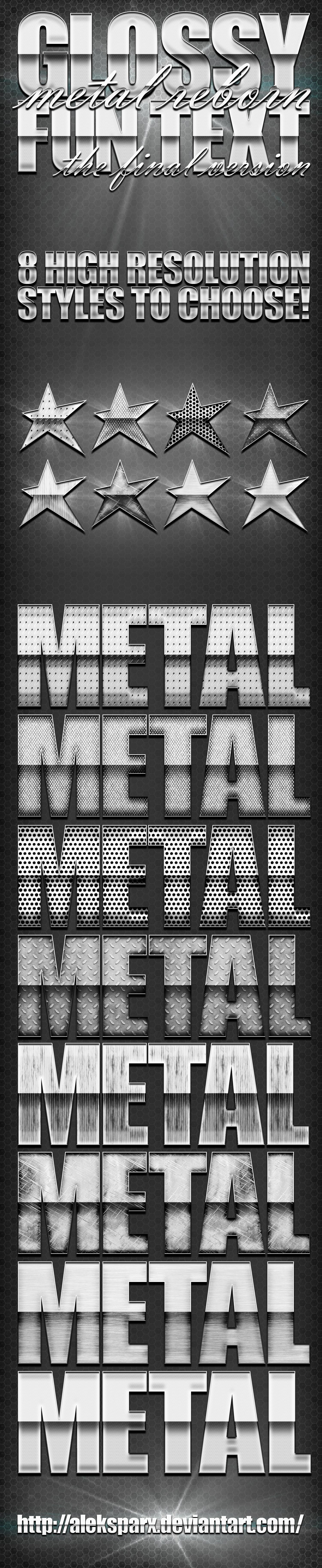 Genuine Glossy Metal 'Reborn' Style