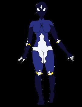 Sapphire Spider by Z-Ap0c0lypse