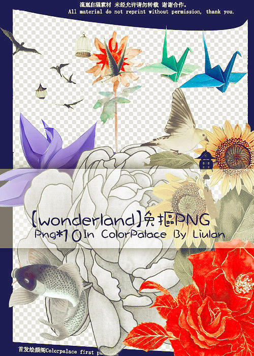 PNG-Wonderland by qianyuanliulan