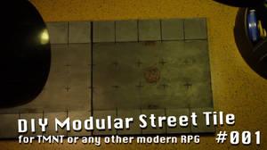 TMNT RPG Street Tile #001