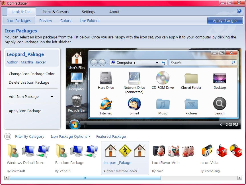 iconpackager 5 0 crack русификатор