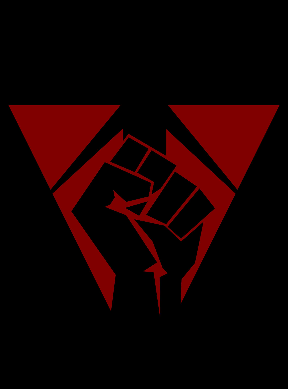 IRONFIST Terran Republic Fist Logo Vector Graphic by ...