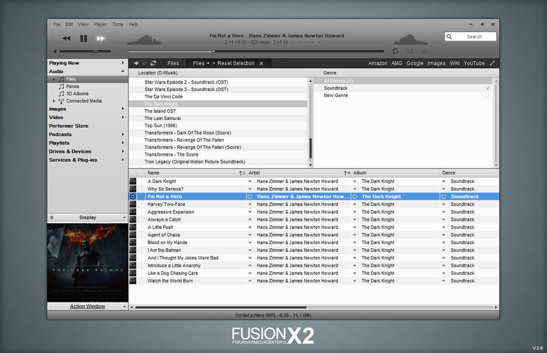 JRiver - FusionX2 by Maverick07x