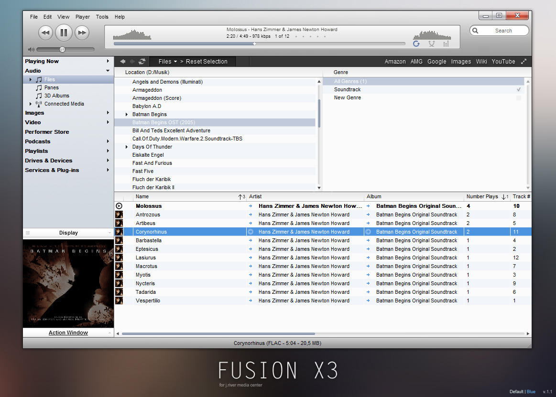 JRiver - FusionX3 by Maverick07x