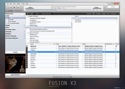 JRiver - FusionX3