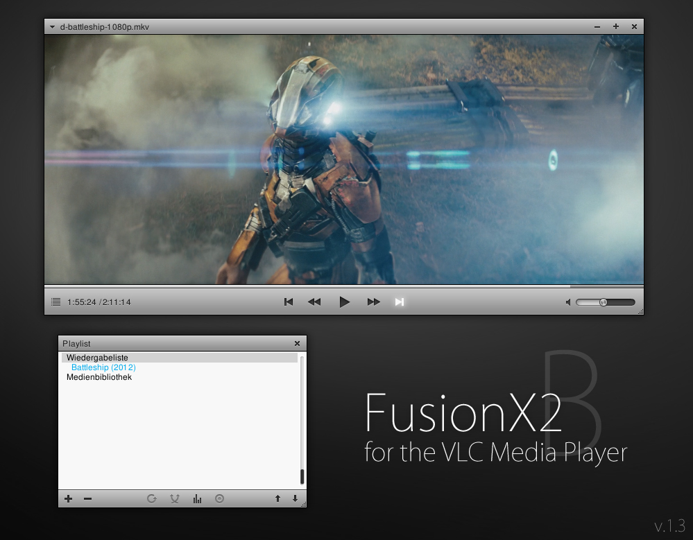 VLC - FusionX2 [Version B] by Maverick07x