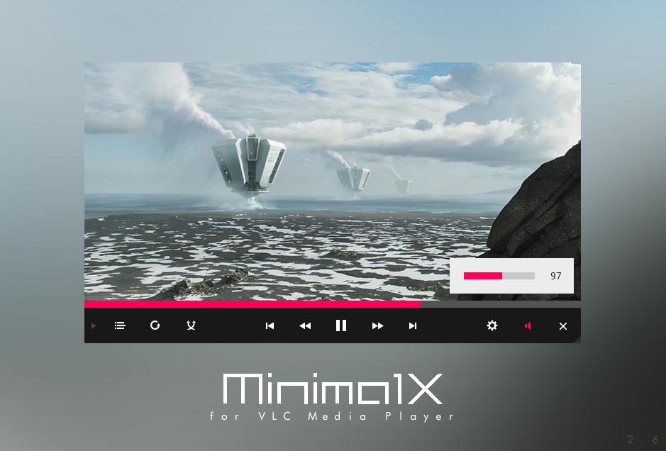 VLC - MinimalX by Maverick07x