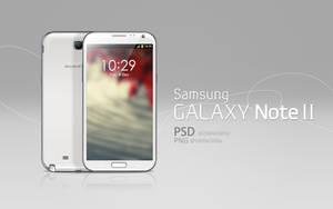Galaxy Note II PSD by abdelrahman