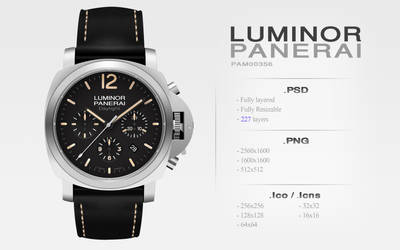 Luminor Panerai PSD | PNG | Icons
